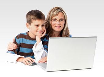 אם ובנה קובעים תורים